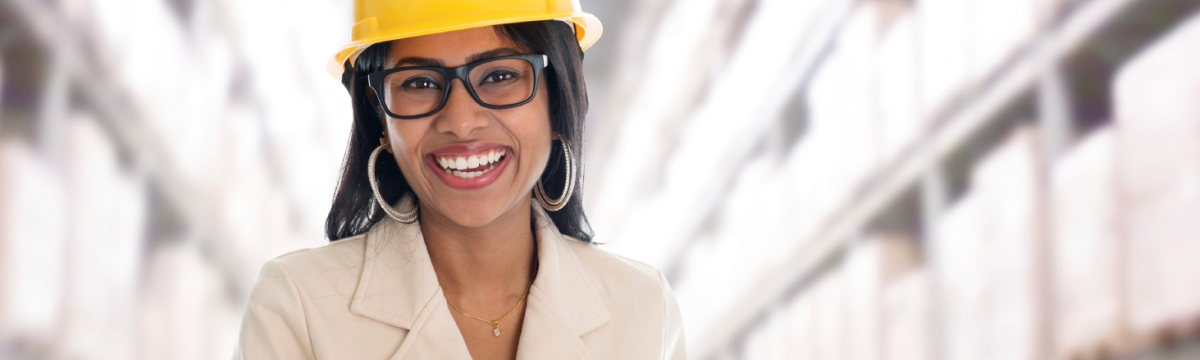 Banner image lady in hard hat