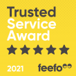 Astutis winner of Feefo Trusted Service Award 2020