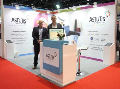 Astutis Middle East exhibits at Intersec 2017